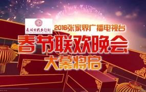 2016张家界广播电视台春节联欢晚会大幕开启