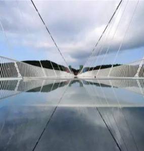 张家界大峡谷玻璃桥代表中国元素荣登吉尼斯年鉴