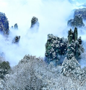多个景区持续降雪银装素裹赏雪玩雪人气爆棚