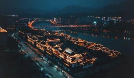 张家界大庸古城自9月3日起恢复开放
