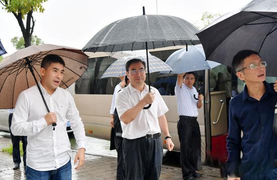 刘革安调研张家界市中心城区棚改项目建设